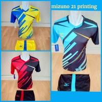 Harga baju kaos olahraga jersey bola kostum futsal volly mizuno | DEMO GRABTAG