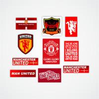 Jual Stiker Football Logo Manchester United Kota Makassar Merch Id Tokopedia