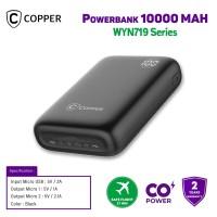 COPPER POWERBANK 10000MAH - WYN719 SERIES (FREE TRAVEL POUCH)