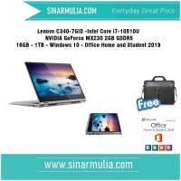 Lenovo Yoga C340 - 7GID i7-10510U NVIDIA GeForce MX230 - 16GB - 1TB