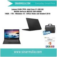 Lenovo Yoga C340 -7FID i7-10510U NVIDIA GeForce MX230 - 1TB - 16GB