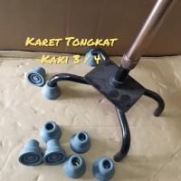 Karet Tongkat Kaki 3 dan 4,sparepart tongkat