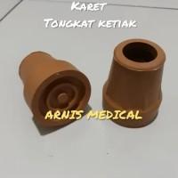 Karet Tongkat ketiak,cruck ketiak,sparepart tongkat