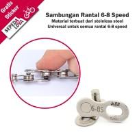 Sambungan Rantai Sepeda Chain Join Rante Universal 6 7 8 Speed