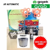 Cup Sealer Mesin Press Gelas ET-A9 Automatic+Gratis Roll KHUSUS GOJEK