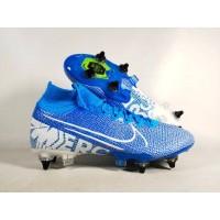 Sepatu Bola Mercurial Superfly VII Elite SG/Pro Blue Hero Replika Impo