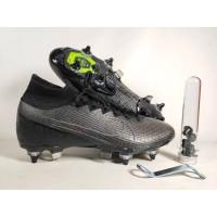 Sepatu Bola Mercurial Superfly VII SG/Pro Black Replika Impor