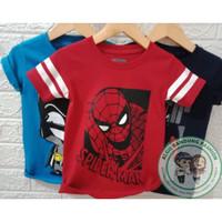 Koas Karakter Baju Atasan Anak Laki Laki Spiderman