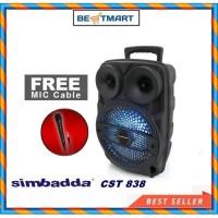 SPEAKER SIMBADDA CST 838N Free Mic Cable