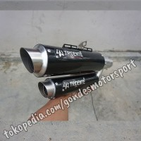 Knalpot Tridente F22 250 cc Silincer Only Stainless