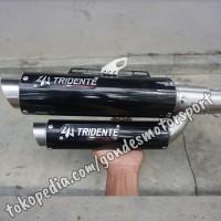 Knalpot Tridente F22 150 cc Full System Stainless