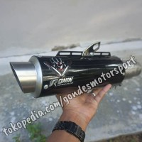 Knalpot Ronin Katana Bebek/Matic Dibawah 150 cc Silincer Only