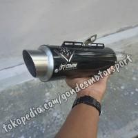 Knalpot Ronin Katana Bebek/Matic dibawah 150 cc Full System Stainless