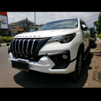 Grille Grill Aksesoris Accessories Toyota All New Fortuner VRZ SRZ T