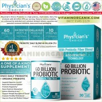 Probiotic Physician Choice 60 Billion CFU / Probiotik 30 Capsules ORI