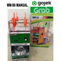 Cup Sealer Mesin Press Gelas WILLMAN WM-D8 Gojek GARANSI RESMI 1TAHUN