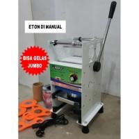 Cup Sealer Mesin Press Gelas ET-D1 untuk Gelas Tinggi Jumbo 22 Oz