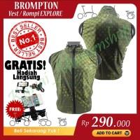 New! Vest Brompton Explore Rompi Brompton Explore