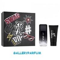 Carolina Herrera 212 VIP Black For Men (Gift Set)