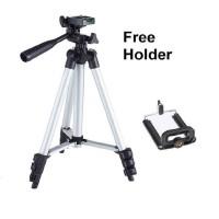 Tripod Kamera Camera HP Holder Handphone Weifeng 3110 1 Meter Tripods