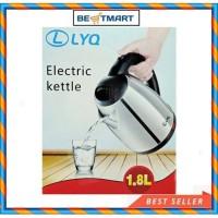 Teko listrik LYQ pemanas air 1.8L kettle electric kapasitas 1.8L