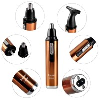 Alat Cukur Elektrik Nose Ear Eyebrow Trimmer