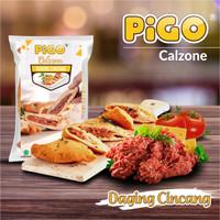 Pigo Calzone Pizza Buntal Goreng 340gr isi 2 Pcs