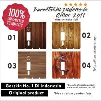Garskin skin Vinci 40w vinci r Full body Wood kayu Edition sticker