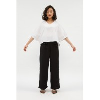 RAMUNE Bram Pocket Pants ( Black )