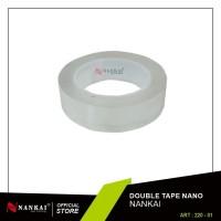 Double Tape Nano 30 mm x 2 m / Double Tape Bening 2 Meter Nankai