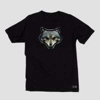 Baju Kaos Tshirt Distro Streetwear Merek Upstain Wear Wolf Edition