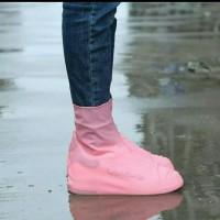 Sarung sepatu anti hujan Anti air silicon waterproof