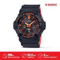 Jam Tangan Casio G-Shock Solar Power Pria Digital GAS-100BR-1ADR Hitam