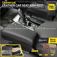 Car Armrest Extension Multifungsi Console Box Leather Organizer Mobil