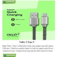 kabel data type c hippo fast charging 100cm