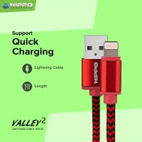 kabel data iphone hippo fast charging 100cm lightning.