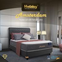Holiday Springbed Amsterdam: Natural Latex + Pocket [Matras]