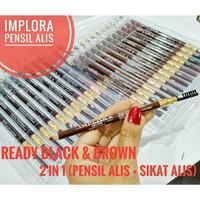 Implora (✔️BPOM) Pensil Alis 2.5 gram ( soft eyebrow pencil )