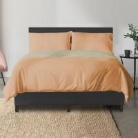 SIMPLY Set Sprei (Bed Sheet) Basic [Peach] - Exclusive Tokopedia