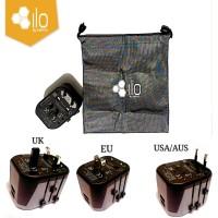 Adapter Ilo Travel AT201 SDC 2 Ports USB Max 2.4A Garansi Resmi