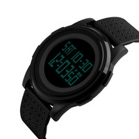 Jam Tangan Pria Digital SKMEI 1206 Black Water Resistant 50M