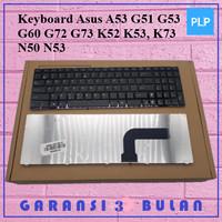 Keyboard Asus A53 G51 G53 G60 G72 G73 K52 K53, K73 N50 N53 FRAME