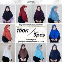Paket Hijab Bergo by Shasmira