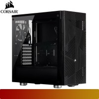 Corsair - 275R Airflow Black Tempered Glass Mid-Tower Gaming Case