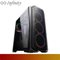 Casing INFINITY SPYDER - TEMPERED GLASS