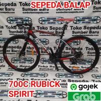 SEPEDA BALAP 700C RUBICK SPIRIT 24 SPEED shimano tourney.' RUBICK 7001