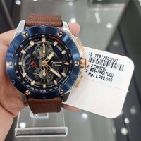 Jam Tangan Alexandre Christie AC6549MC Brown Silver Blue