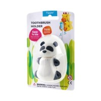 Tempat Penyimpanan Sikat Gigi Tempel Flipper Fun Animal Panda BAB4
