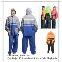Jas Hujan / Rain Coat JC Kombinasi A Twin Elephants