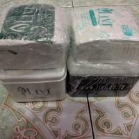 tempat tissue kotak kubus plastick plastik